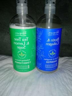 Renpure Biotin+Collagen Shampoo Tea Tree Lemon Sage Conditio