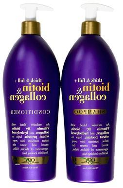 OGX Biotin & Collagen Shampoo or Conditioner Thick & Full Su
