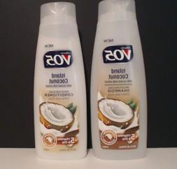 Alberto V05 lsland coconut shampoo and conditioner 12.5 fl o