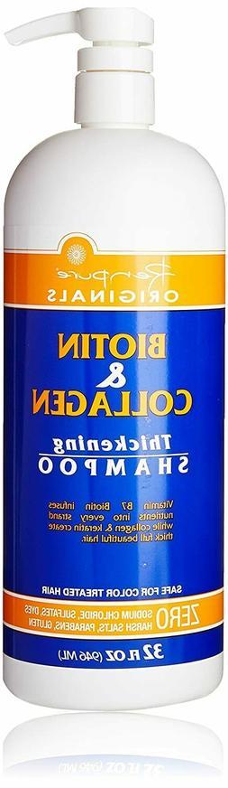 Renpure Biotin and Collagen Shampoo, 32 Ounce