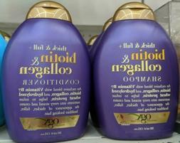 Ogx ~ Biotin & Collagen Shampoo and Conditioner Set 13 oz~