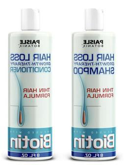 Paisle Botanics Biotin Hair Loss Growth Therapy Shampoo & Co