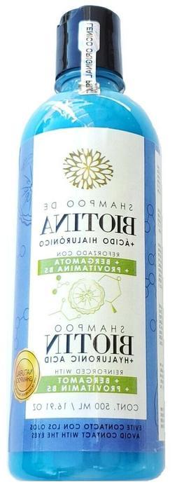 Biotin Shampoo + Hyaluronic Acid, Reinforced Bergamot and Pr