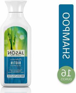 Damaged Hair Repair Shampoo Restorative Biotin 16 Ounce Pure