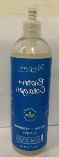 2 Renpure Plant-Based Beauty Biotin & Collagen Thicken + Str