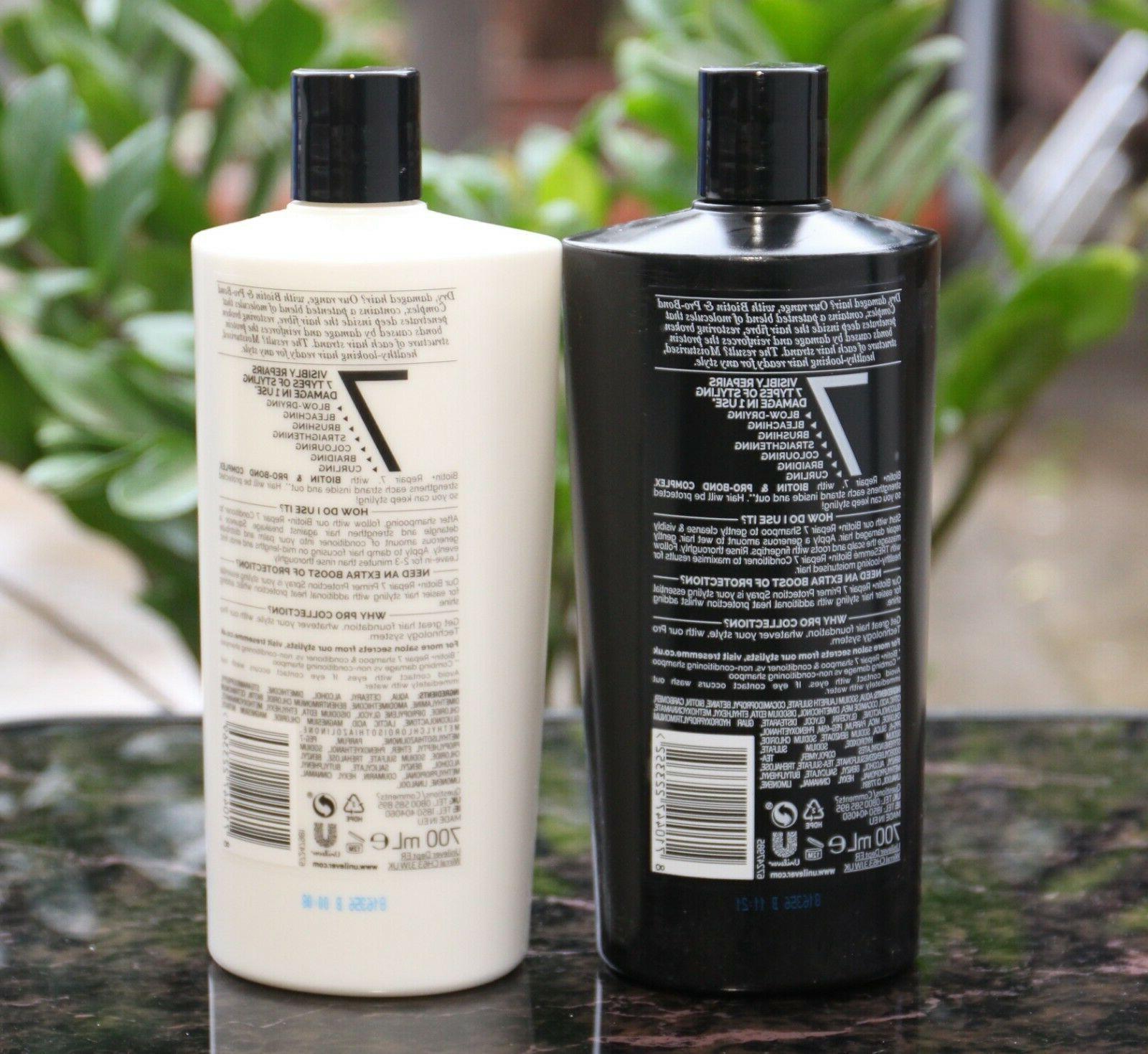 2PK BR REPAIR +7 Shampoo + OZ