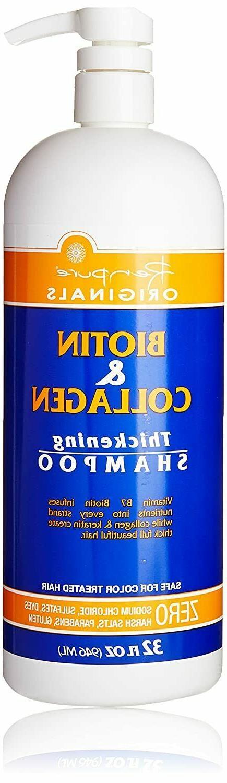 Renpure Biotin and Shampoo Hair Thickening, Sulfate NEW