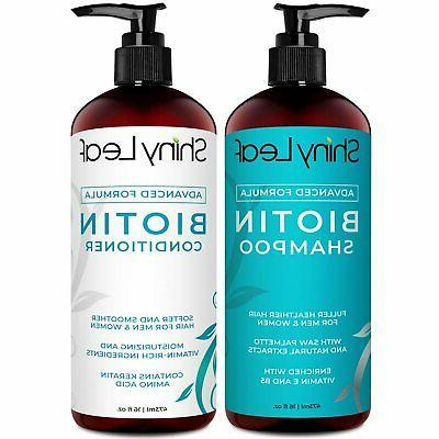 biotin shampoo and conditioner set anti hair