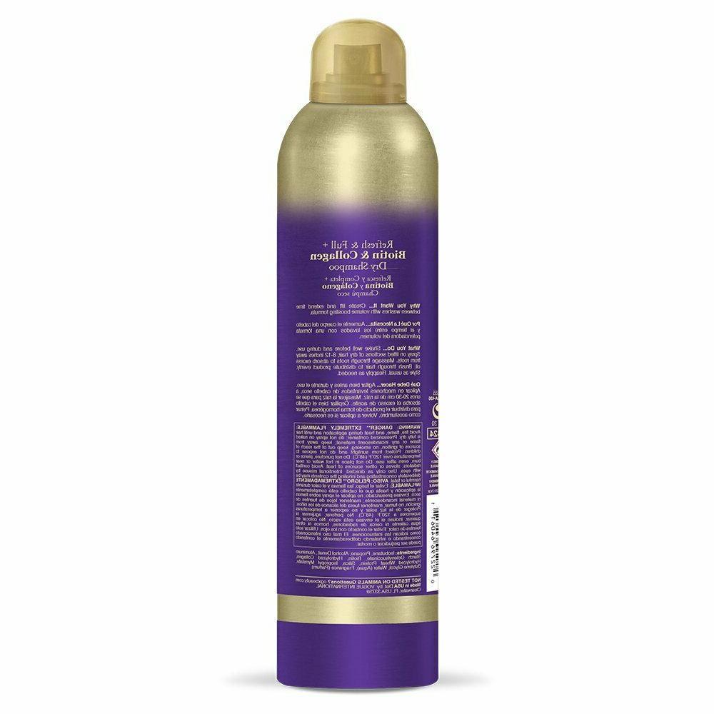 OGX Collection - Refresh + Biotin Collagen Shampoo