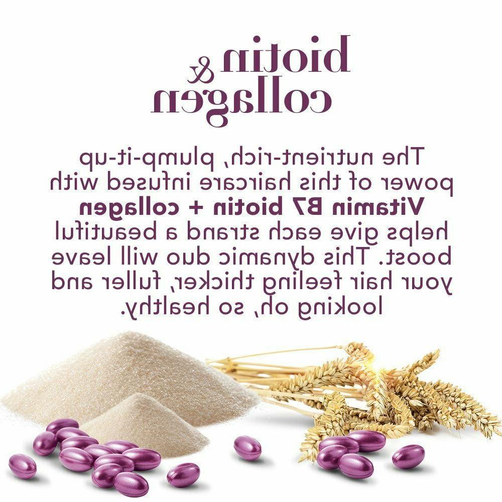 OGX Exclusive - Refresh & Biotin Collagen Shampoo
