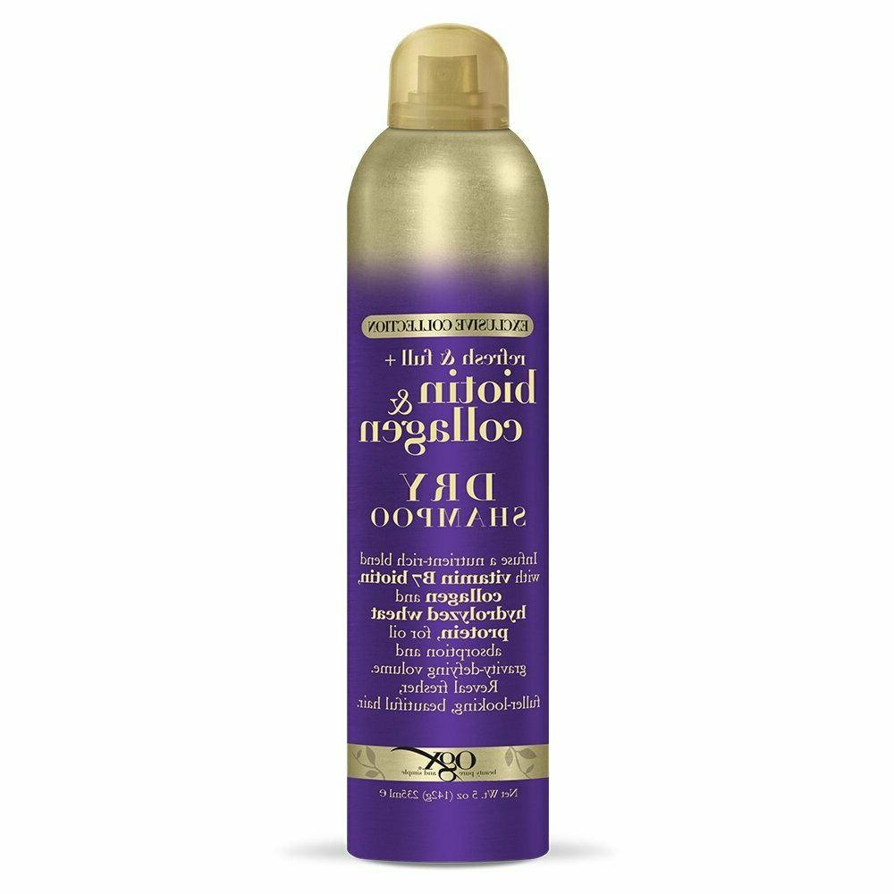 exclusive collection refresh and full biotin