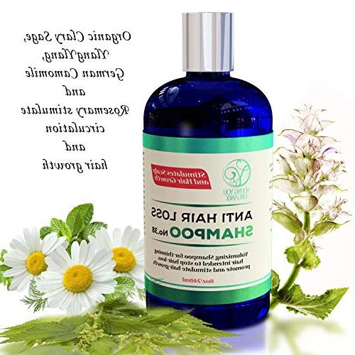 Stimulates Scalp and Growth. natural solution for hair and