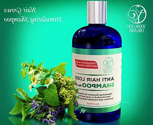 Hair Loss - Stimulates Scalp and Growth. solution for stopping and revitalizing