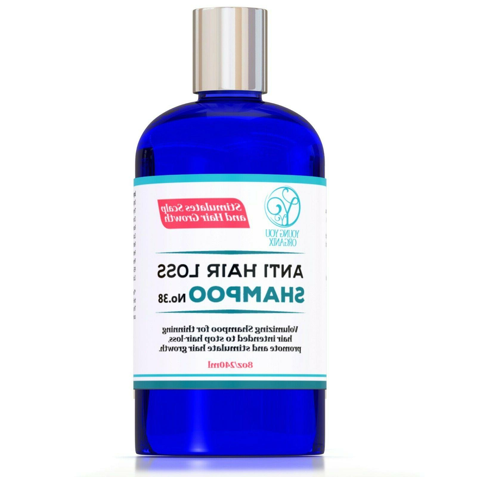 hair loss shampoo stimulates scalp and hair