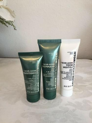 mega rich shampoo and body lotion 1oz