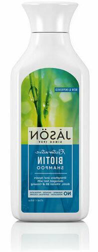 JASON PURE NATURAL Shampoo Restorative Biotin Damaged Hair R