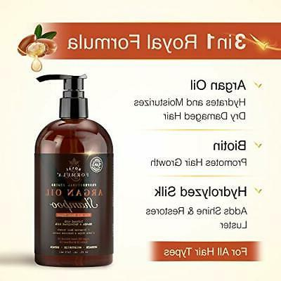 Royal Argan Oil Sulfate Infused