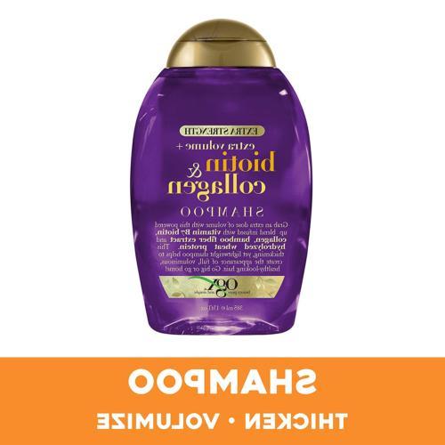 OGX & Full + Collagen Extra Volumizing Shampoo with