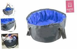 LILYS PET Portable Folding Bath tub Swimming Pool for Small