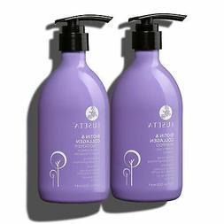 Luseta Biotin & Collagen Shampoo & Conditioner Set for Thin