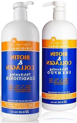 Renpure Originals Biotin  Collagen Thickening Shampoo And Co