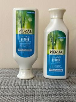 JASON Restorative Biotin Shampoo +Conditioner New 16 Oz Each