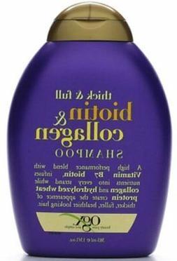 Ogx Shampoo Biotin & Coll Size 13z Organix Shampoo Thick & F