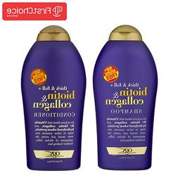 OGX Thick & Full Biotin & Collagen Shampoo And Conditioner 1
