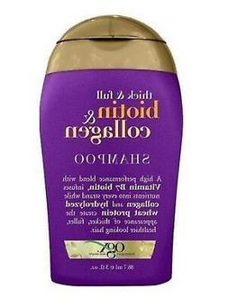 OGX Thick & Full BIOTIN & COLLAGEN Shampoo, 3-oz. TRAVEL SIZ